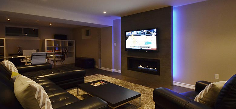 Exceptional Basement Renovation