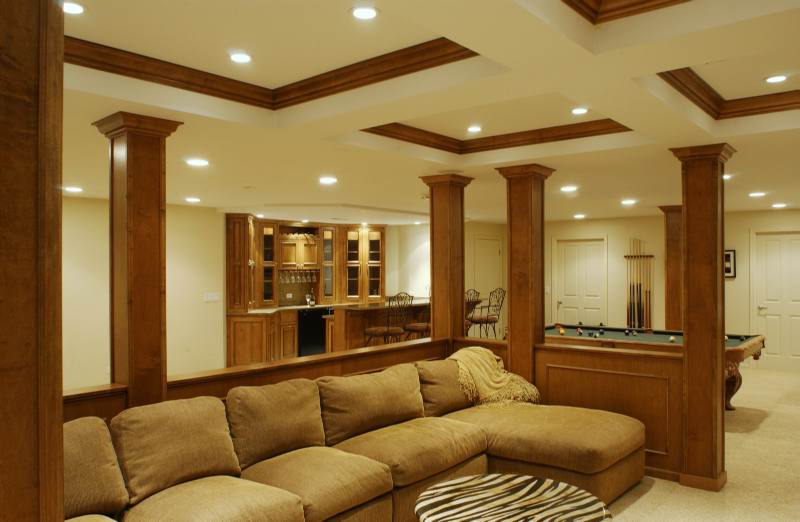 Basement Ideas : Design : Finishing : Remodeling : Repair : Waterproofing