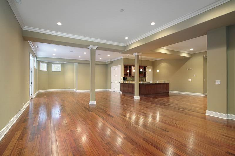 Remodeled Basement With Kitchen